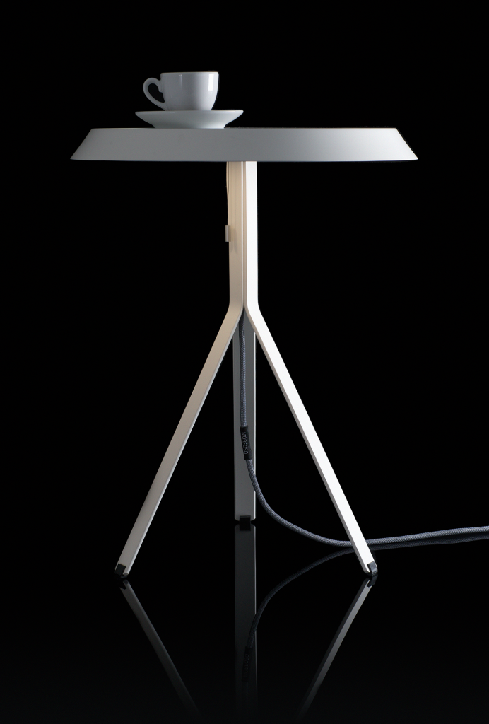 Koenig-Table-Lamp-white-w-cup-on-black-background