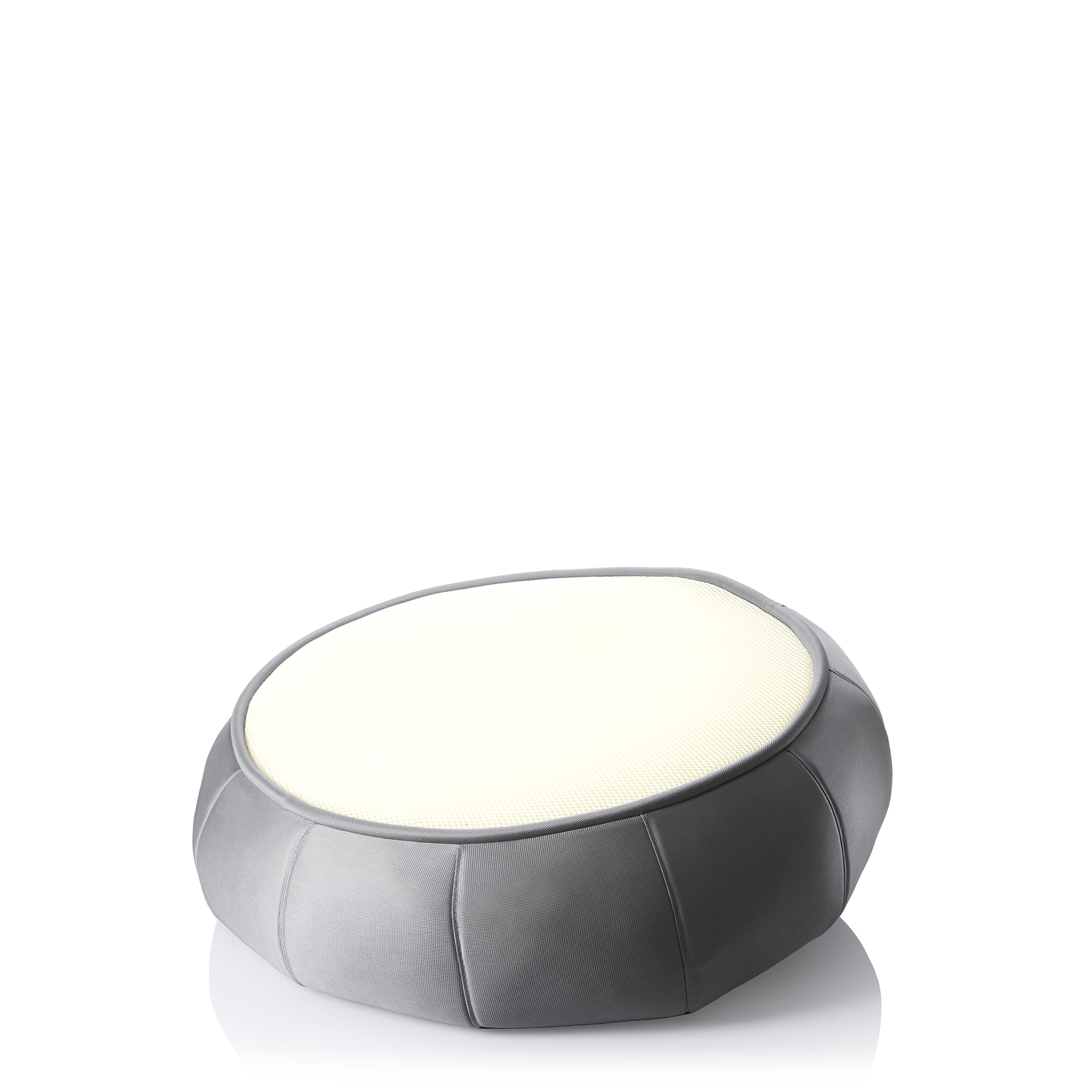 Light Lounger titanium med hvid baggrund